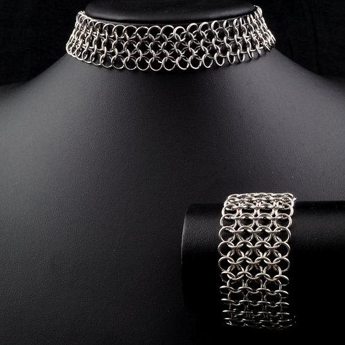 Euro 4-in-1 Choker & Bracelet Set