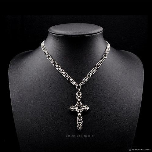 Byzantine Style Cross Necklace