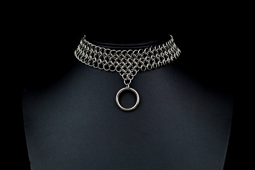 Euro 4-in-1 O'ring Choker