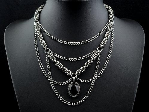 Byzantine Onyx Necklace