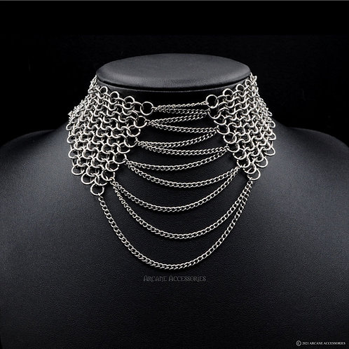 Euro 4 in 1 Lace up Choker