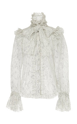 RYAN LO | Ruffle Bow Blouse