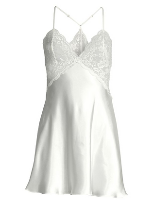 """IN BLOOM """"Say Yes"""" Lace & Satin Chemise"""
