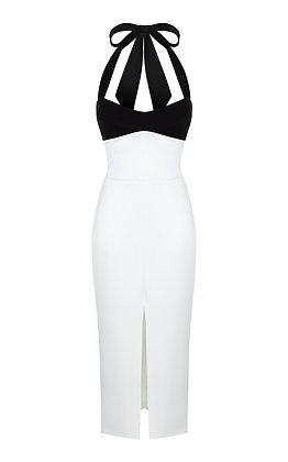 RASARIO   Stretch Crepe Dress