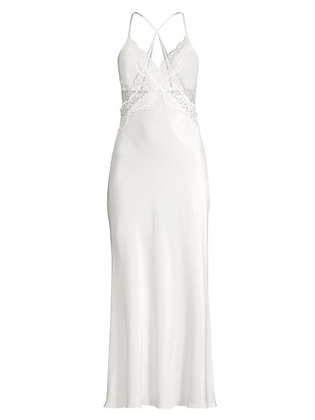 JONQUIL | Satin Lace Gown
