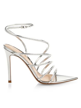 GIANVITO ROSSI | Embellished Strappy Sandals
