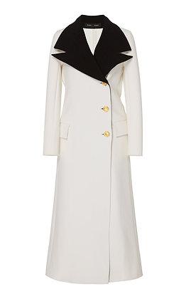 PROENZA SCHOULER | Double Lapel Wool Blend Coat