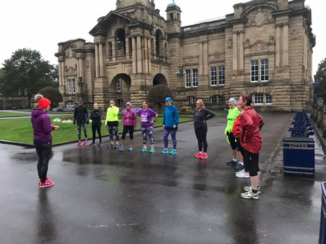 Run session in Lister Park