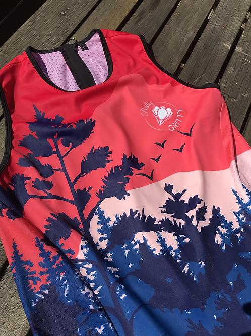 Pretty Gritty 'New Dawn' Triathlon Suit