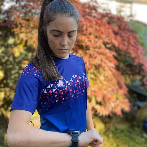 Short sleeved running t-shirt