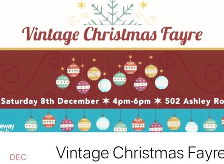 Mini Treatments at the Vintage Christmas Fayre