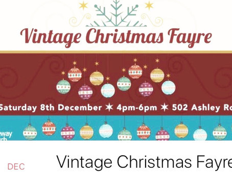 Mini Treatments at the Vintage Christmas Fayre