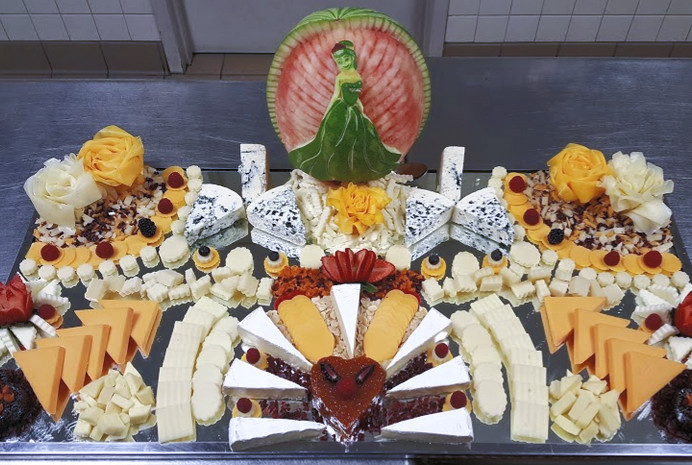 Assorted Domestic & Imported Cheese Platter