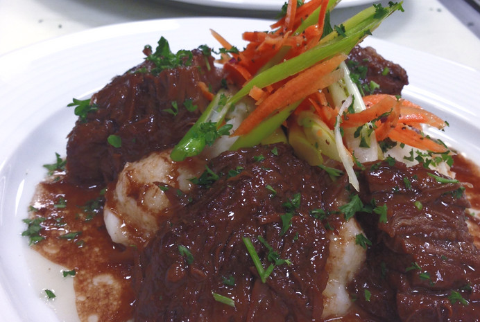 Braised Boneless Short Ribs of Beef