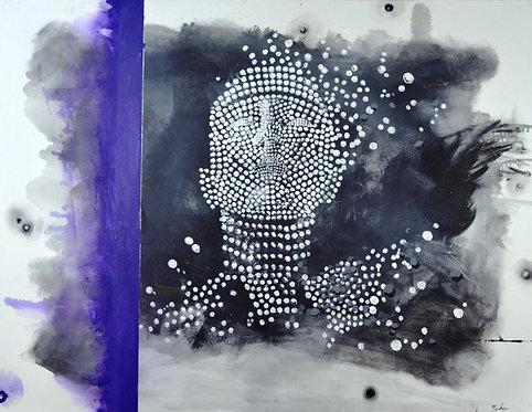 Nosheen Pervez Art Embodiment Mixed Media Canvas