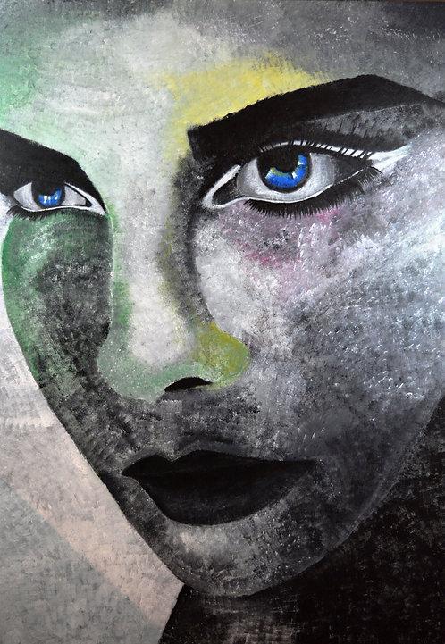 Nosheen Pervez Art Untitled Acrylic Canvas