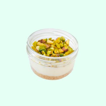 White Chocolate Pistachio with Organic Vanilla Bean