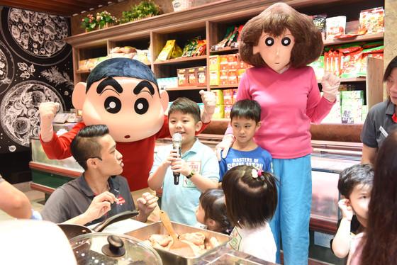 Hong Kong Market x SHINCHAN Meet & Greet香港街市 x 蠟筆小新見面會