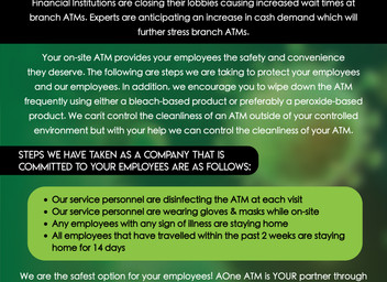 WHY your onsite ATM is more critical than ever!