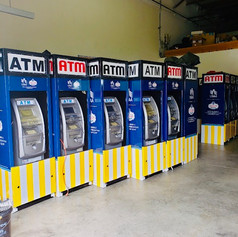 USAA ATMs getting ready for Carolina Cou