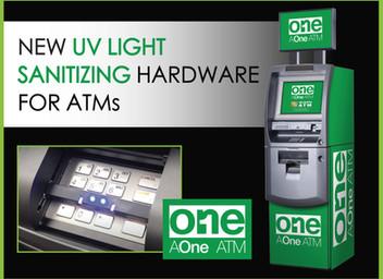 New UV Light Sanitizing Hardware for ATMs