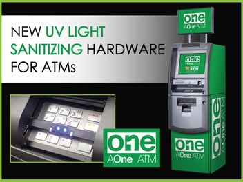 New UV Light Sanitizing Hardware for ATMs