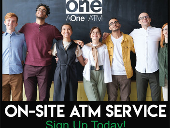 On-site ATM Service - Sign Up Today!