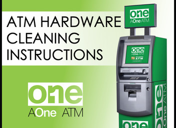 ATM Hardware Cleaning Instructions