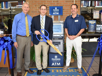 AOne ATM is proud to be the ATM managing partner at Southern Wesleyan University for Founders Federa