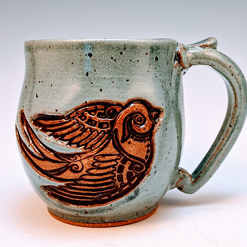 Free bird mini mug