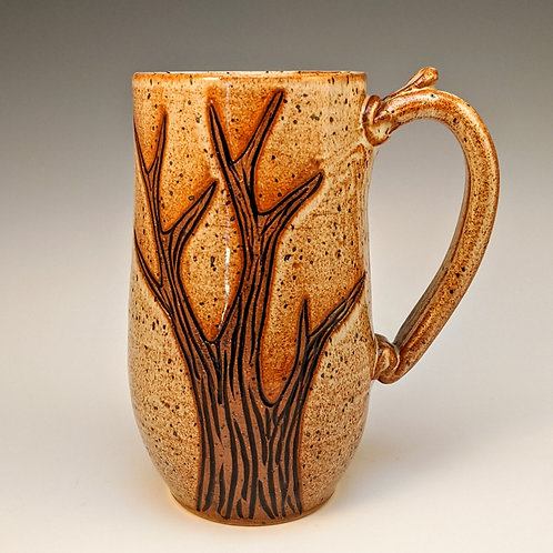 Extra tall tree mug