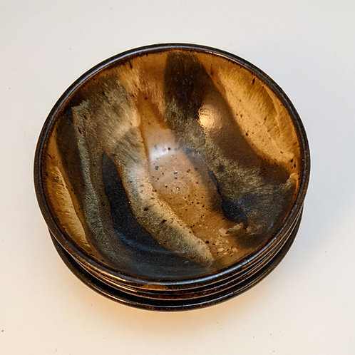 Lizzy jasper dip bowls set of three
