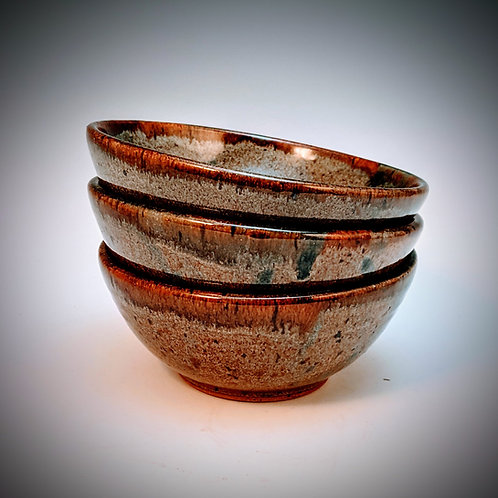 Set of 3 dip bowls