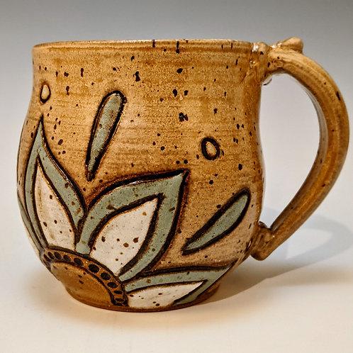 Mini mug flower design
