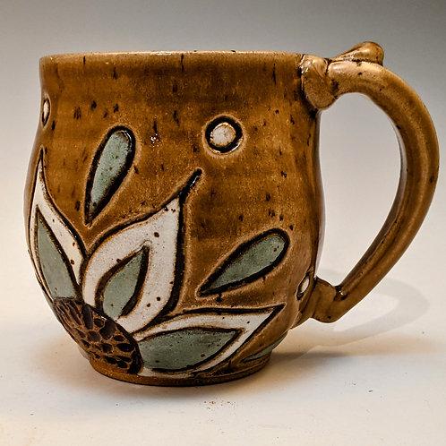 Treehouse flower Mini mug