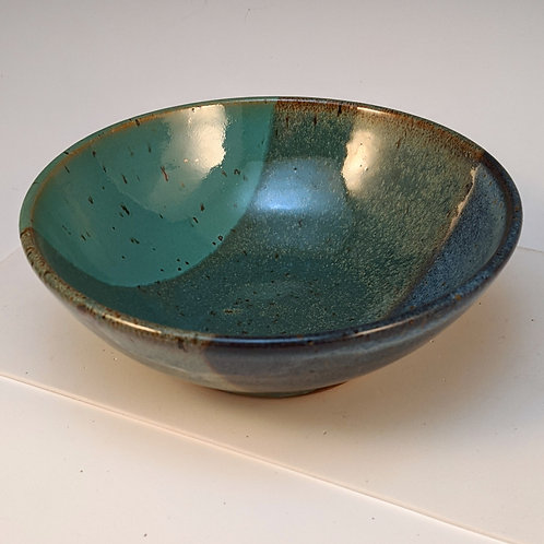 Blue/nutty cereal bowl