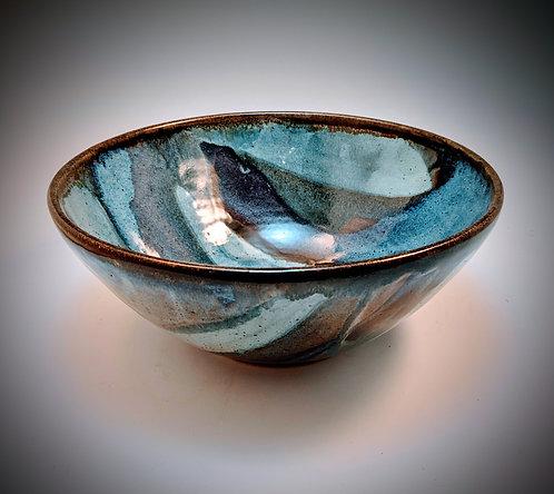 Medium ocean jasper serving bowl
