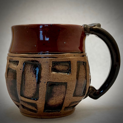 Red Block Mini Mug