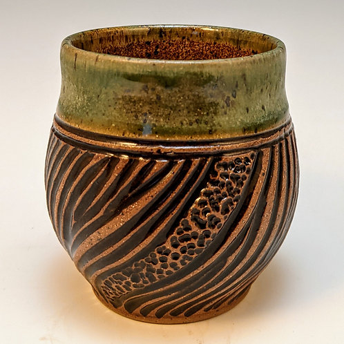 Carved mini cup