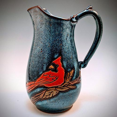 Cardinal pitcher medium