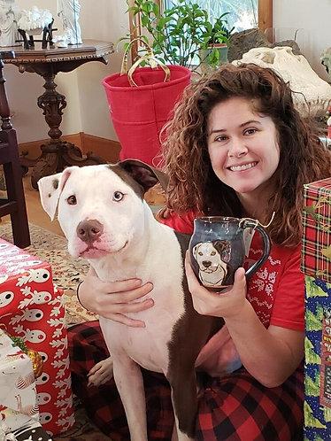 Custom dog mug