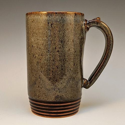 Extra big soft blue mug