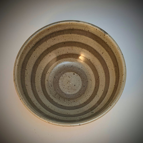 Concentric grey Small serving bowl
