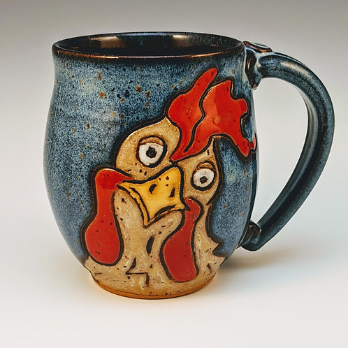 What the cluck chicken mug