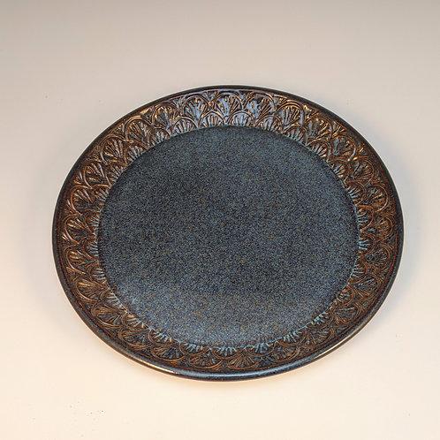Blue rutile Salad plate