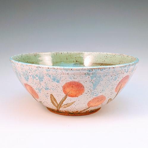 Pop flower serving bowl
