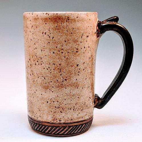 Extra big mug in straw color