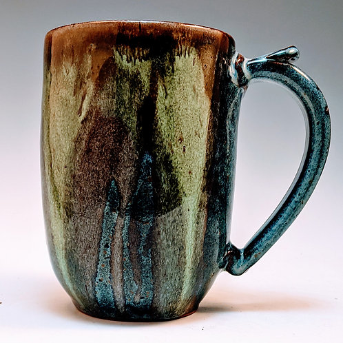 Extra big river jasper mug