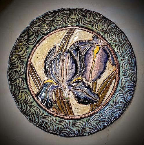 Iris plate
