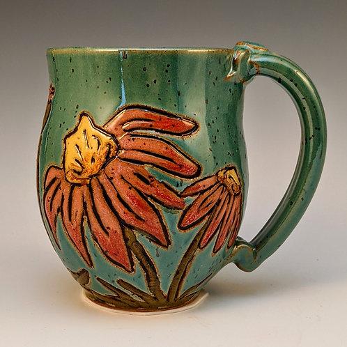 Echinacea mug